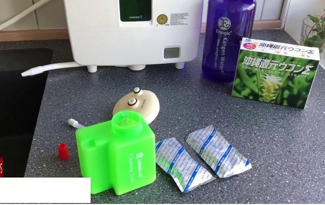 chuẩn bị dụng cụ vệ sinh máy K8